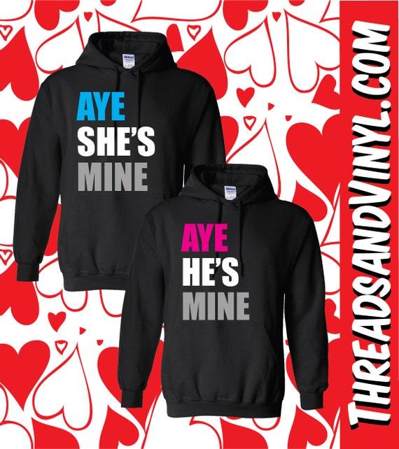 Aye He S Mine Aye She S Mine Hoodies Aztec Sweater Dress