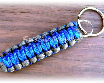 Paracord Key Fob, Keychain, Accessory, Survival Gear, Adult Accessory, Teen Accessory, Gift