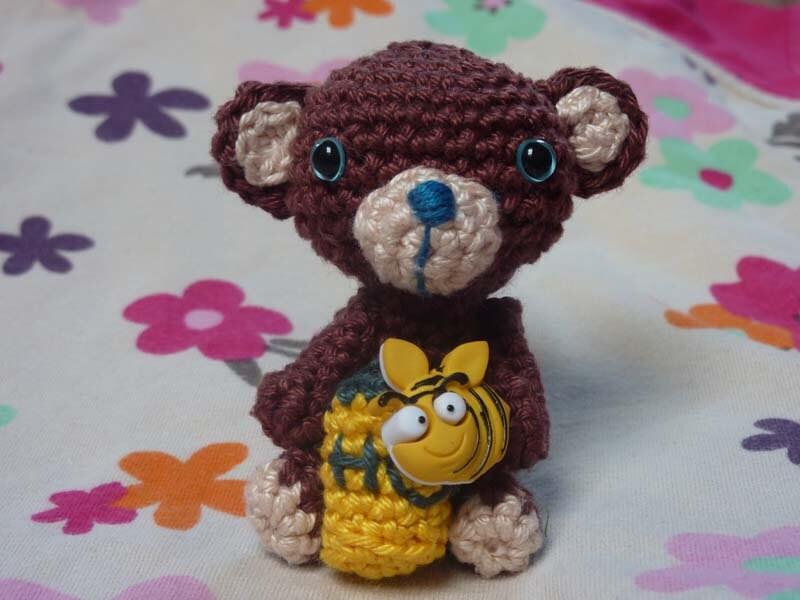 Amigurumi Pattern Teddy Bear : Amigurumi teddy bear crochet pattern