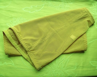 Vintage Control girdle/waspie waist M nude
