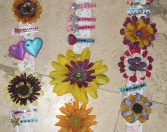 Personalized Barrette Holder  - Customized any way you like
