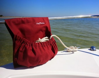 rope utility bag boat rope bag rv camper closet 1 line free text included