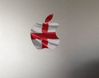 England flag of St George MacBook Decal