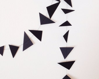 Triangle Confetti Garland