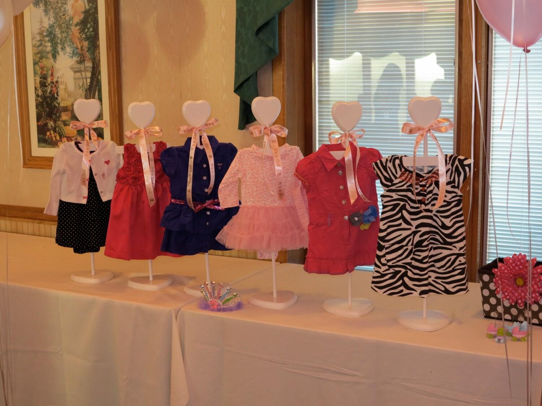 Dress Hanger Baby Shower Centerpiece Stacey Stands