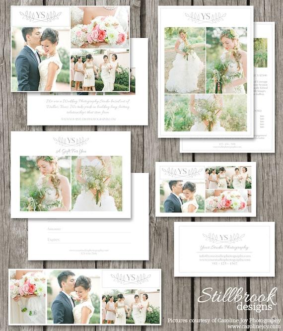 Photography marketing set print marketing template suite for Marketing templates for photographers