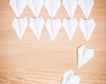 Party Decor Paper Airplanes