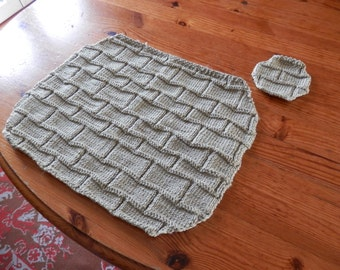 Handknit Placemat set