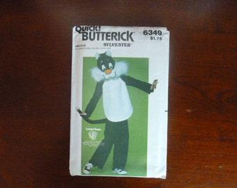 "Quick Butterick 6349  ""Sylvester"" Chidren's Costume"