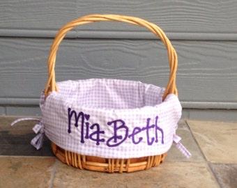 Custom Easter Basket Liner