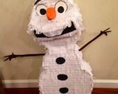 Olaf Snowman Disney Frozen Custom Piñata (Regular Size)