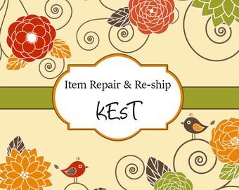 Item Repair and Re-ship