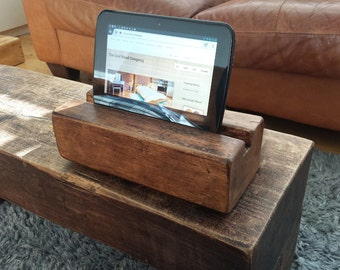 Chunky Wooden Tablet Stand