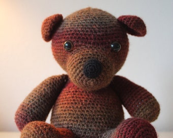 Doris the bear (crochet pattern en)