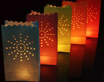 30 x Candle Bags tea light paper bags Ideal for by CandleBags