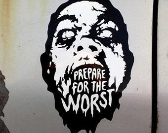 Zombie Prep Sticker