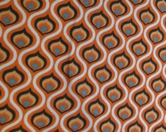Groovy in Orange by Stenzo - Premium Euro Cotton Jersey Knit 5510