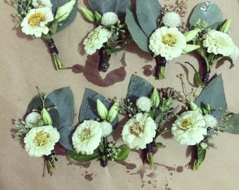 Custom Wedding and Special Event Boutonnieres