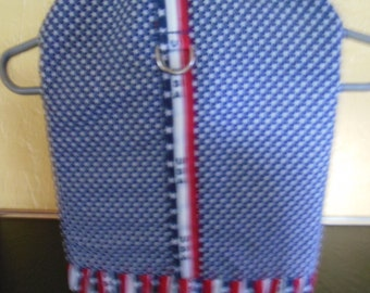 Red, white and blue stars and stripes dress