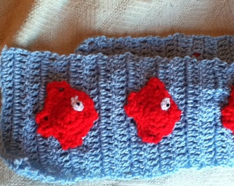 Fish in the Sea Scarf