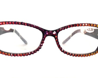 Cover Up - Volcano (Reading Glasses with Crystals)