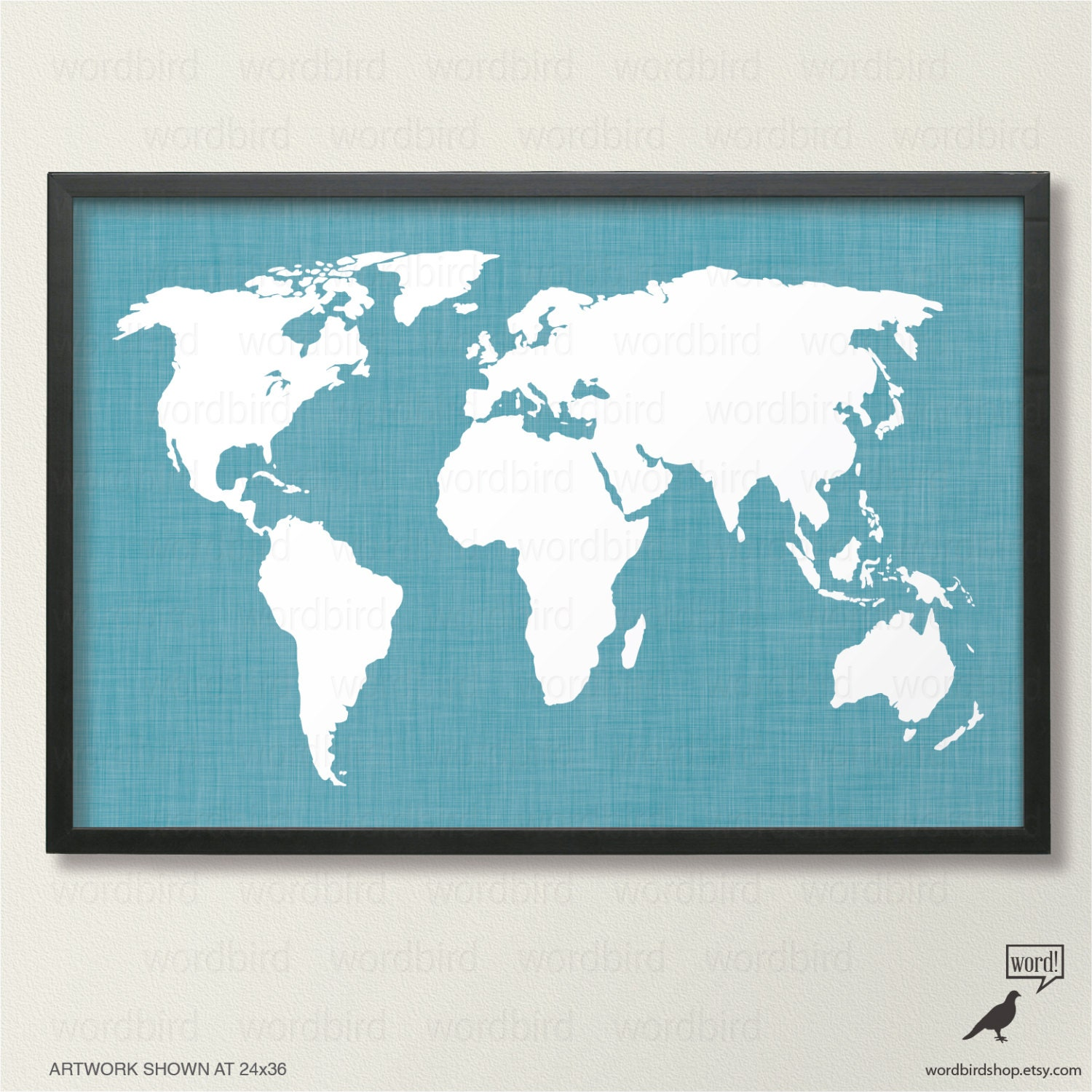 teal world map world map wall decor chic home decor