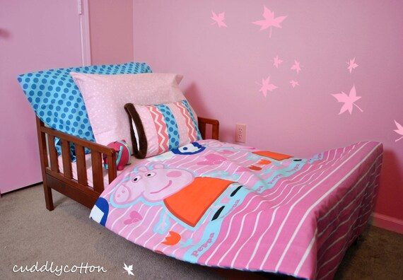 Peppa Pig Toddler Bedding Set Toddler Comforter By