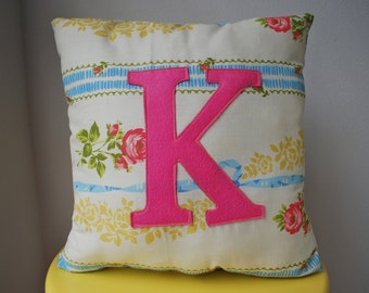 Made To Order Letter Pillow