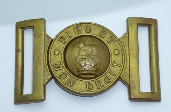 British Army General Service Belt Buckle Solid Brass Quality