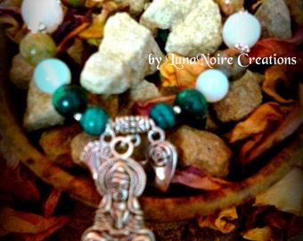 Kuan Yin Birthing Bracelet that assists with new Motherhood