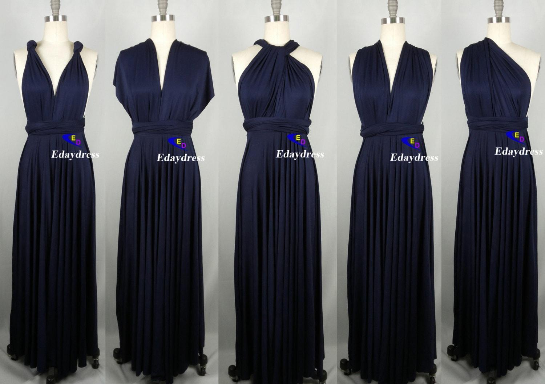 100 twist wrap dress navy bridesmaid bridesmaid dresses blue infinity bridesmaid dress ombrellifo Images