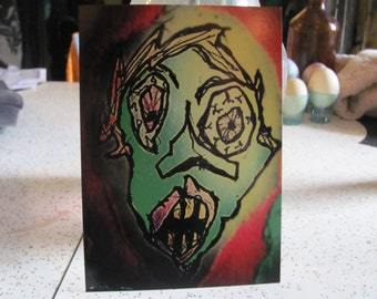 Postcard - Blarg