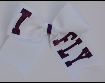 Cheerleading Hairbows I Fly in your choice of colors Cheerleader Hairbows