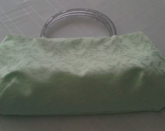 Mint Green Evening Bag