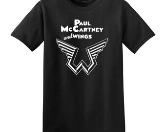 Paul McCartney and Wings t-shirt new vintage style concert tour beatles choose size XS-3XL mens or ladies