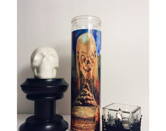 Tales from the Crypt Crypt Keeper Prayer Candle