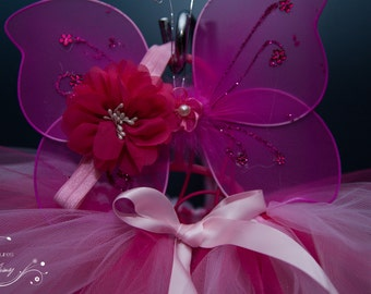 Newborn -  to 4T Fairy Stargaze Lilly Tutu Set. Halloween Costume, Kids Halloween , Halloween,  Photography Prop, Photo Shoot, New Baby,