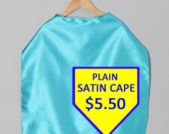 Superhero Capes Satin for parties and more Super FAST shipping