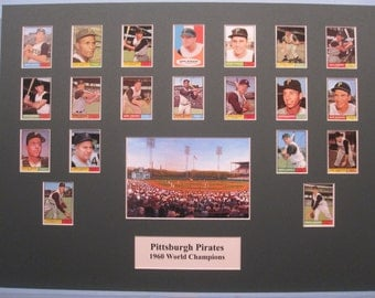 Honoring the Pittsburgh Pirates - 1960 World Series Champions led by Hall of Famers Roberto Clemente and Bill Mazeroski