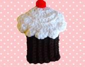 Cupcake Tawashi Washable Dish Scrubbie