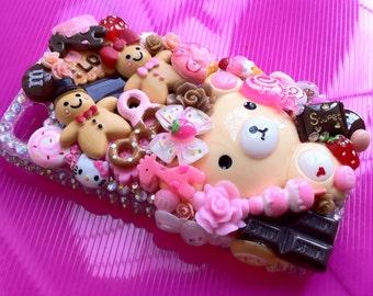 "Kawaii Decoden Phone Case ""Candy Shop"" (iPhone 4/4s)"
