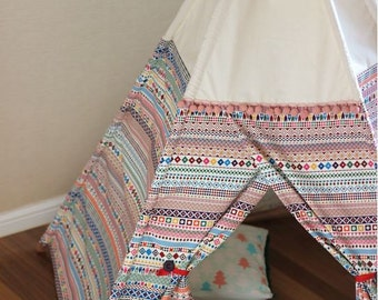 Half Yard-American Indian Pattern Cotton Fabric