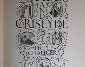 1932 Art Edition of Troilus and Criseyde
