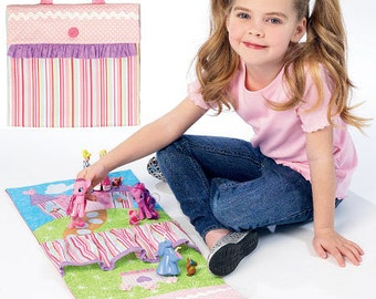 Travel Toy Mats McCall's Pattern M6934