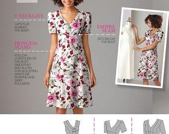 Simplicity Sewing Pattern 2247 Misses' & Plus Size Amazing Fit Dresses