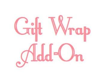 Gift Wrap & Card Add-On