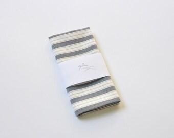 White Gingham Pocket Square. Gray Pocket Square. Stripe Pocket Square. Beige Handkerchief