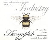 14 Bumble Bee Symbolism Card