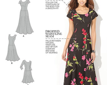 Simplicity Pattern 1537 Misses' / Women's Dress in Three Lengths