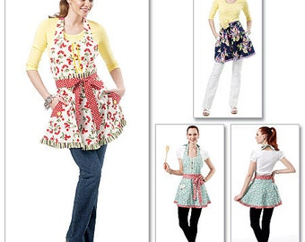 OUT of PRINT McCall's Pattern M6366 Aprons